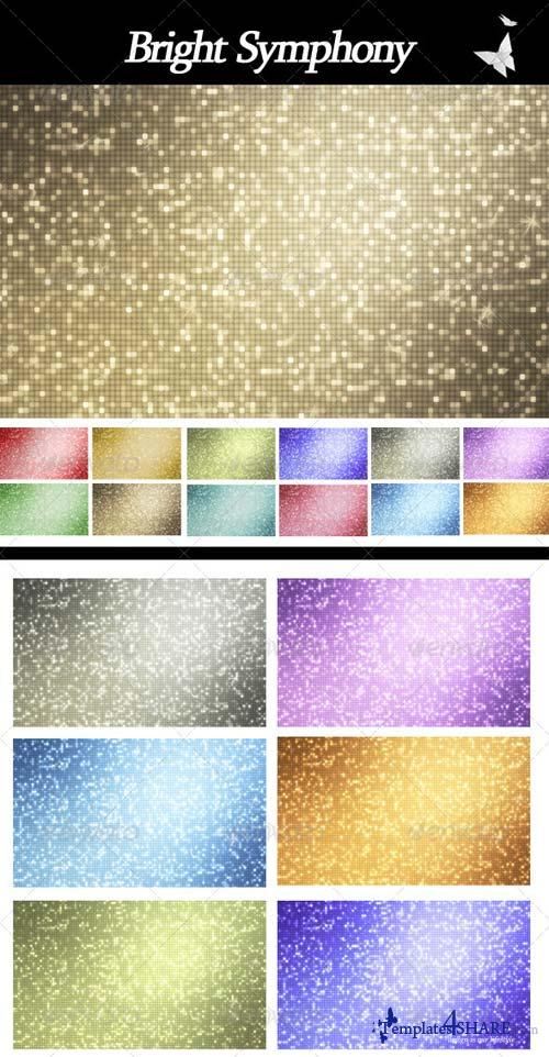 GraphicRiver Bright Symphony Backgrounds