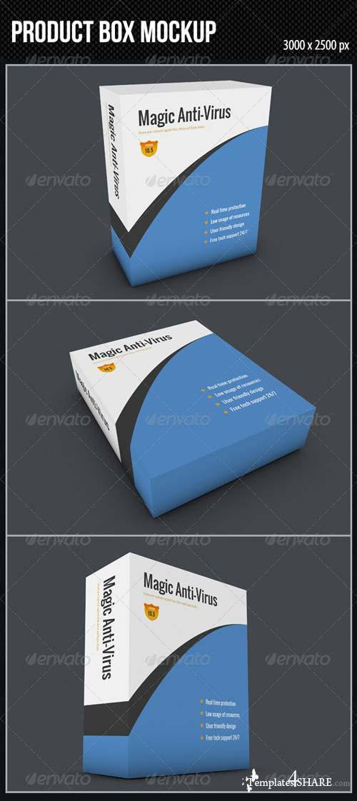 GraphicRiver Product Box Mockup
