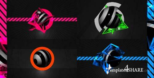 T4 Logo reveal - After Effects Project (Videohive)