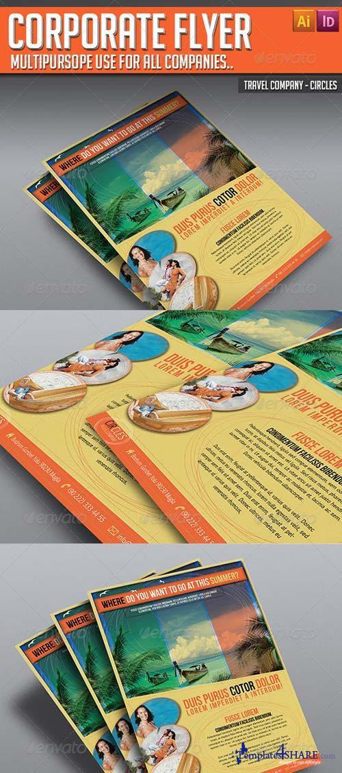 GraphicRiver Corporate Flyer - Circles