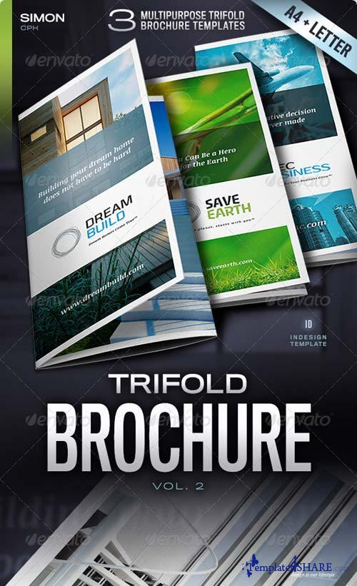 GraphicRiver Trifold Brochure Vol. 2