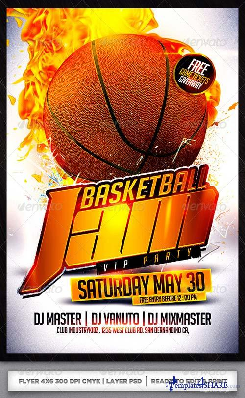 GraphicRiver Basketball Flyer Template