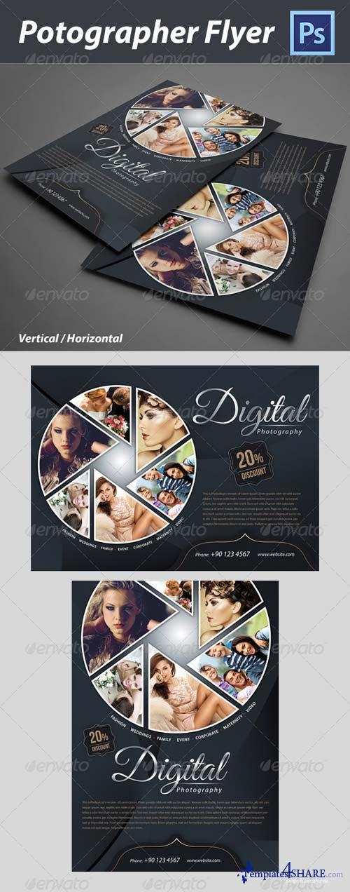 GraphicRiver Photographer Flyer