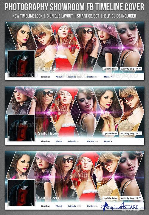 GraphicRiver Photography Showroom FB Timeline Cover