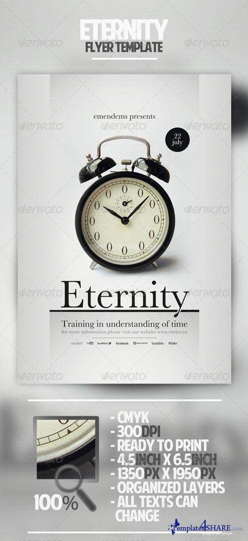 GraphicRiver Eternity Flyer Template