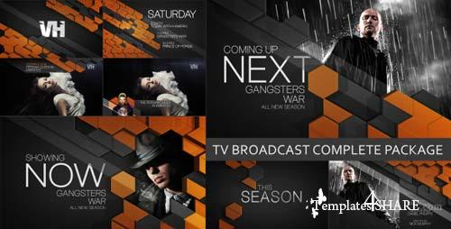 TV Broadcast Complete Package - After Effects Project (Videohive)
