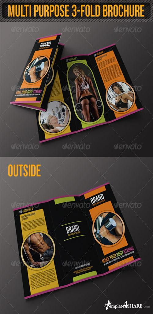 GraphicRiver Multi Purpose 3-Fold Flexible Brochure