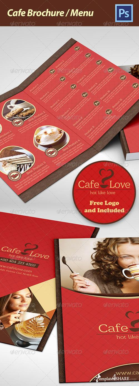 GraphicRiver Coffee Brochure - Menu