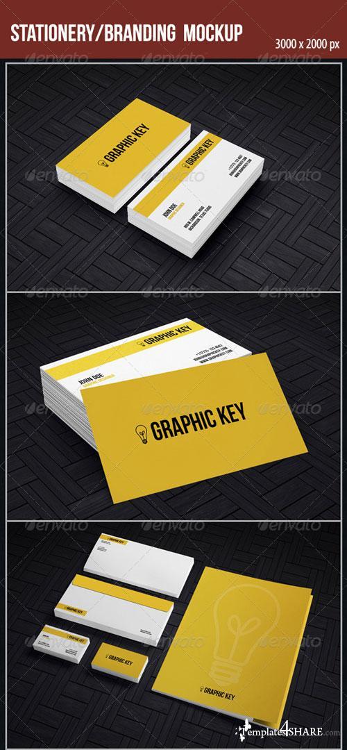 GraphicRiver Stationery/Branding Mockup
