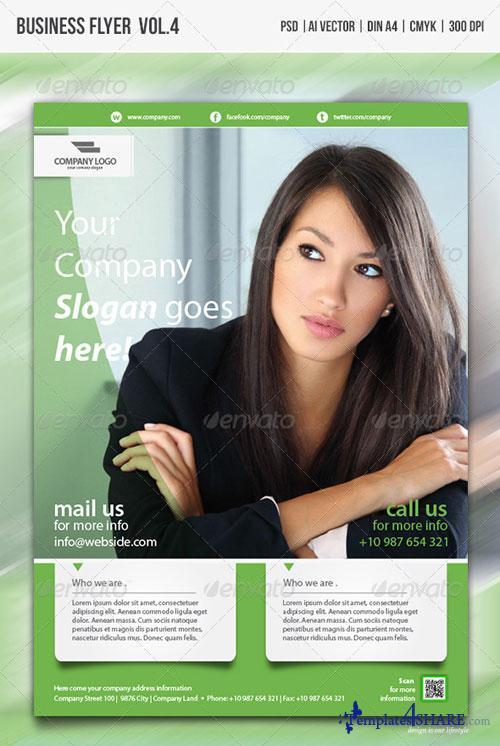 GraphicRiver Multipurpose Business Flyer vol.4