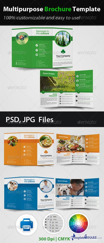 GraphicRiver Multipurpose Brochure Template