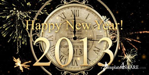 New Year Countdown Clock 2013 - After Effects Project (Videohive)
