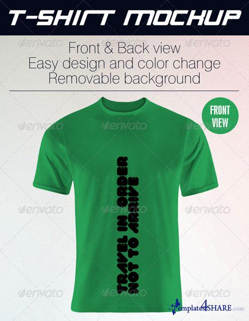GraphicRiver Grapulo T-Shirt Mock Up