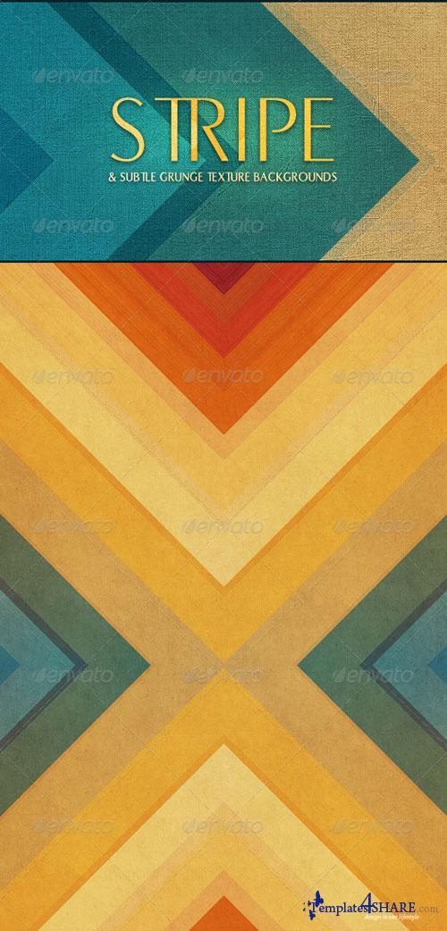 GraphicRiver Stripe & Subtle Grunge Texture Backgrounds