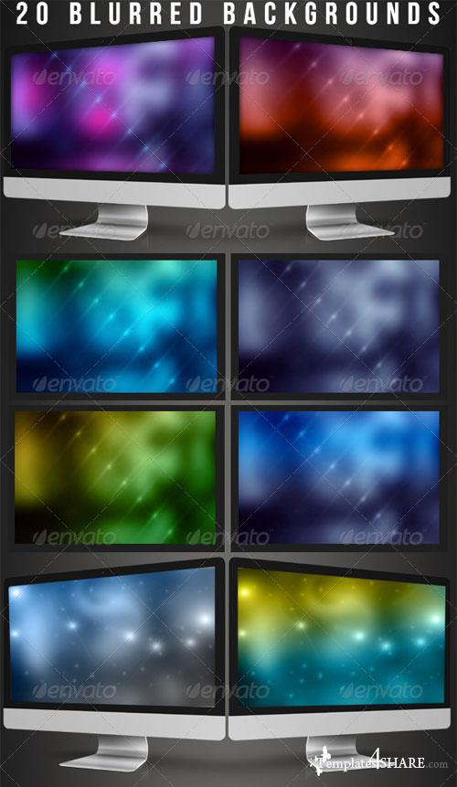 GraphicRiver 20 Blurred Backgrounds