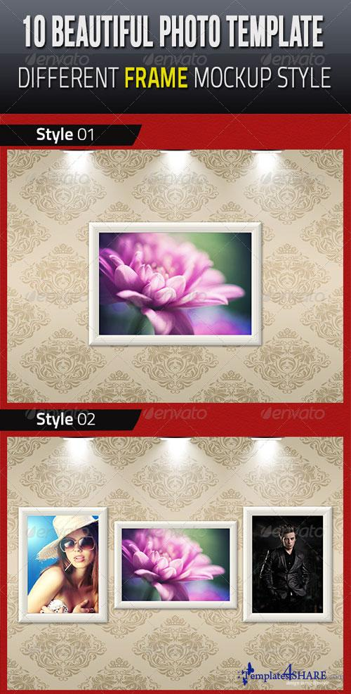 GraphicRiver 10 Beautiful Photo Template