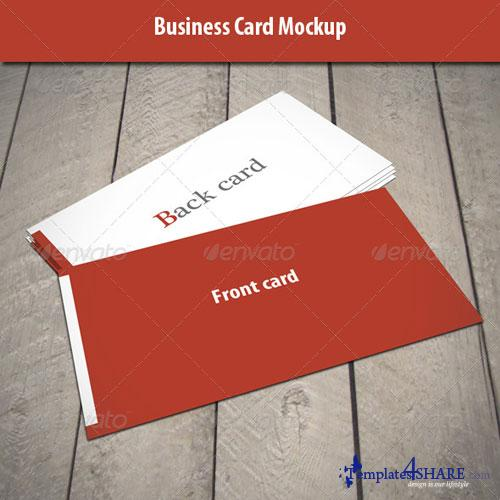 GraphicRiver Business Card Mock-Up 4728291