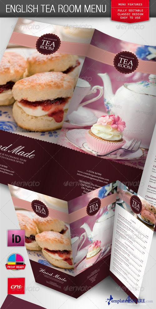 GraphicRiver Tea Room Coffee Shop Menu
