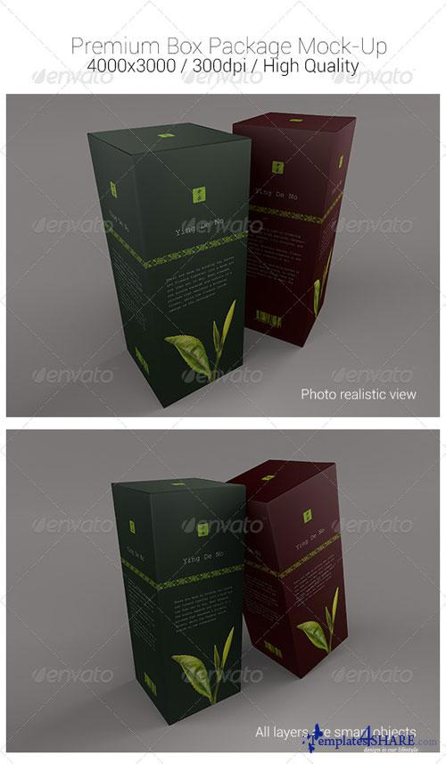 GraphicRiver Premium Box Package Mock-Ups