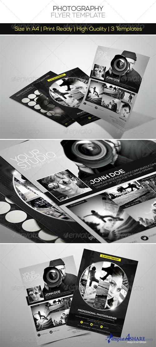 GraphicRiver Premium Photography Flyer