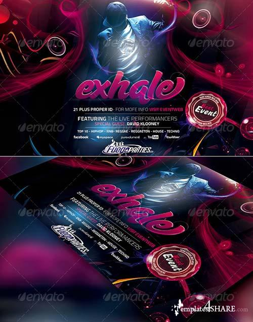 GraphicRiver Exhale Flyer Template