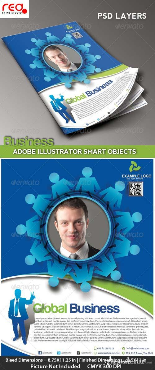 GraphicRiver Business Promotion Flye/Poster & Magzine Template