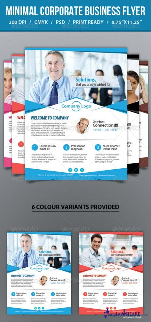 GraphicRiver Minimal Corporate Business Promotion Flyer