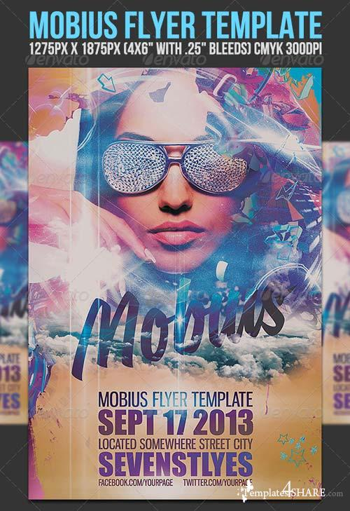 GraphicRiver Mobius Flyer Template