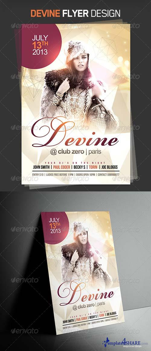 GraphicRiver Devine Party Flyer
