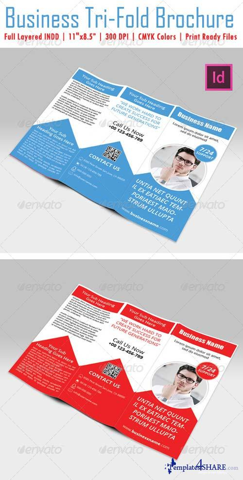 GraphicRiver Business Tri-Fold Brochure