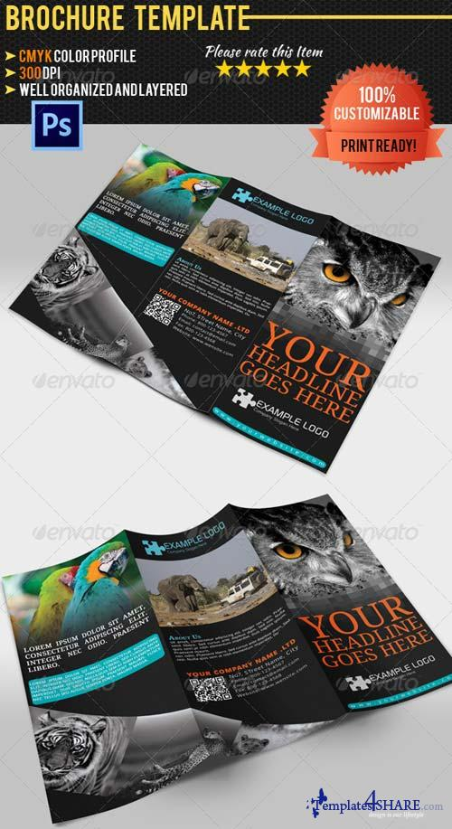 GraphicRiver Adventure Travel Brochure Templatre