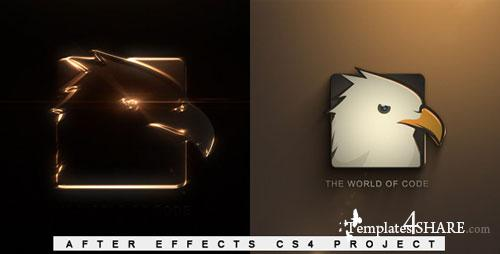 Elegant Glossy Edge Reveal - After Effects Project (Videohive)