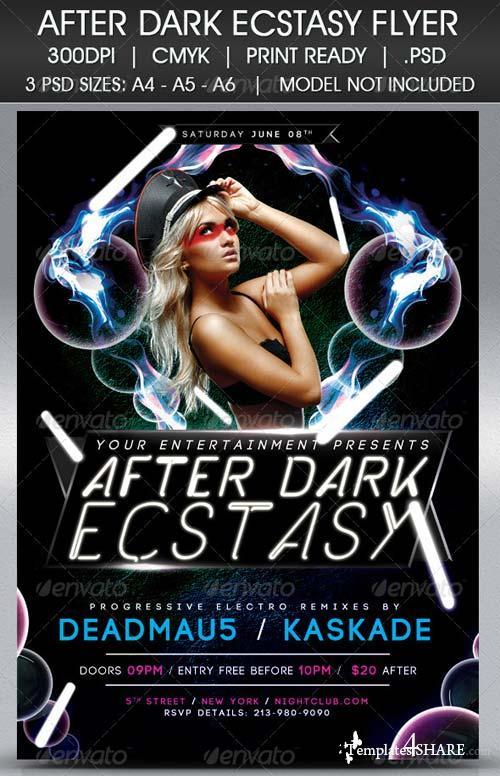 GraphicRiver After Dark Ecstasy Flyer
