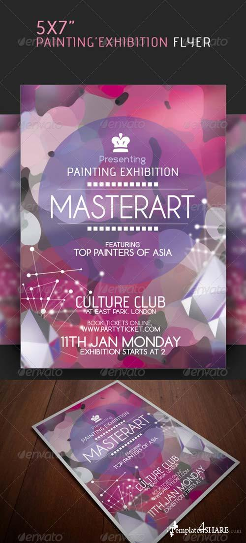 GraphicRiver Painting Exhibition Flyer