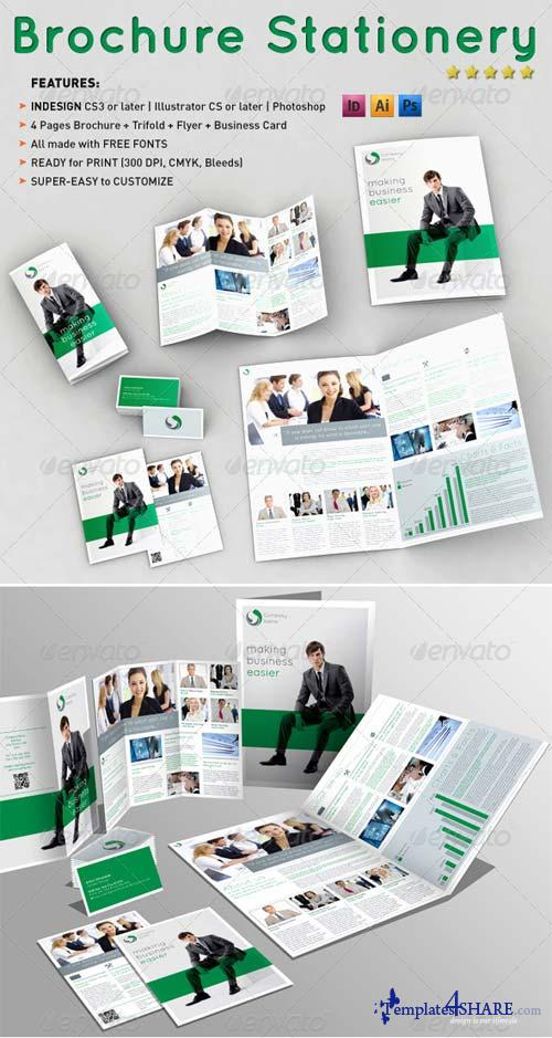 GraphicRiver Brochure Stationery Templates