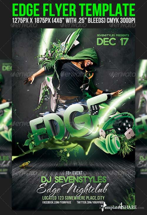 GraphicRiver Edge Flyer Template