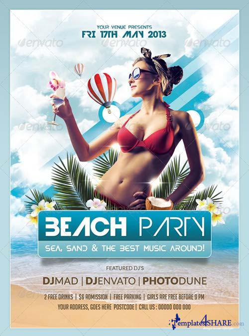 GraphicRiver Summer/Beach Party Flyer & Poster Templates