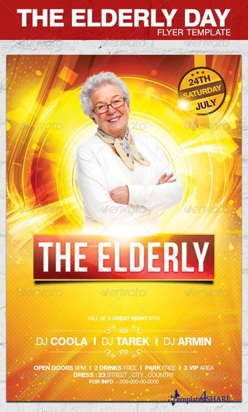 GraphicRiver The Elderly Day Flyer Template