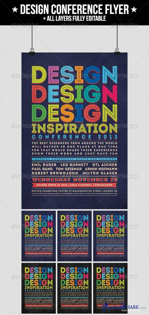 GraphicRiver Design Conference Flyer