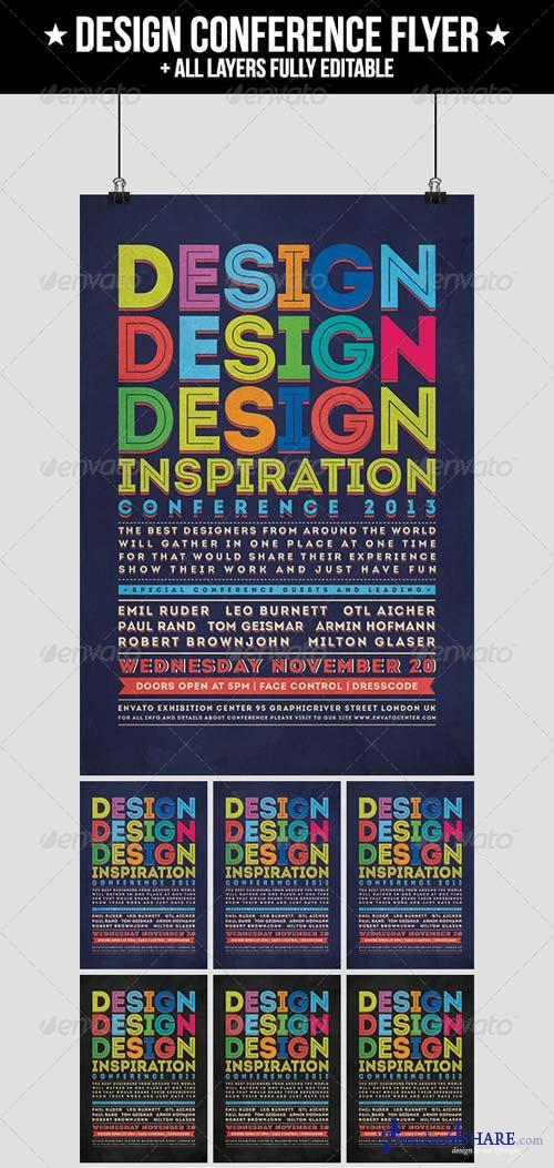 GraphicRiver Design Conference Flyer