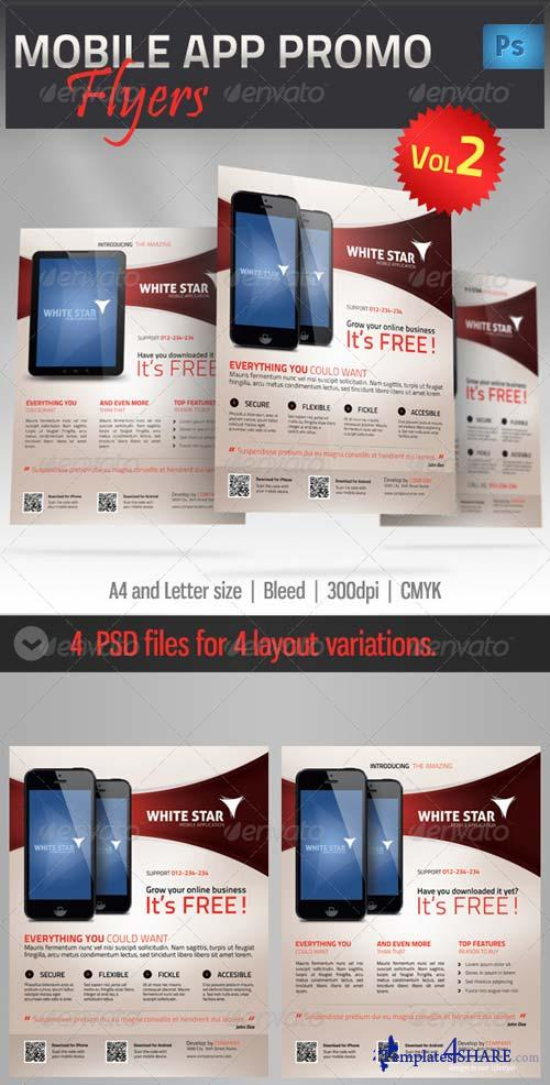 GraphicRiver Mobile App Promotion Flyer vol2