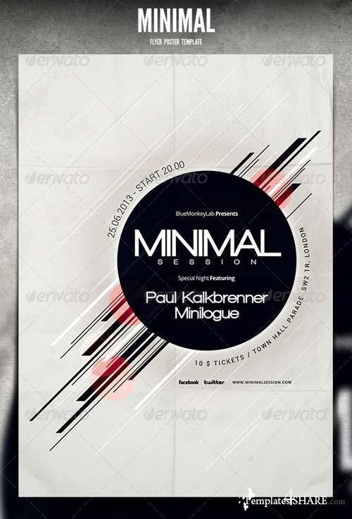 GraphicRiver Minimal Flyer / Poster 4697472