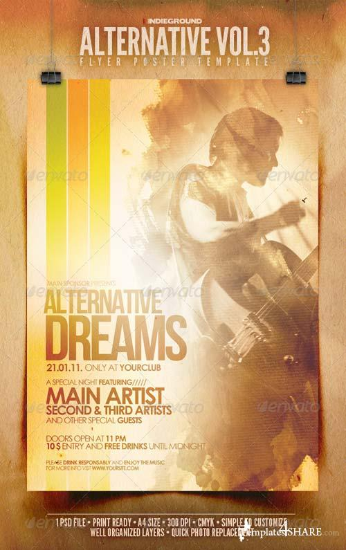 Graphicriver Alternative Flyer/Poster Vol. 3