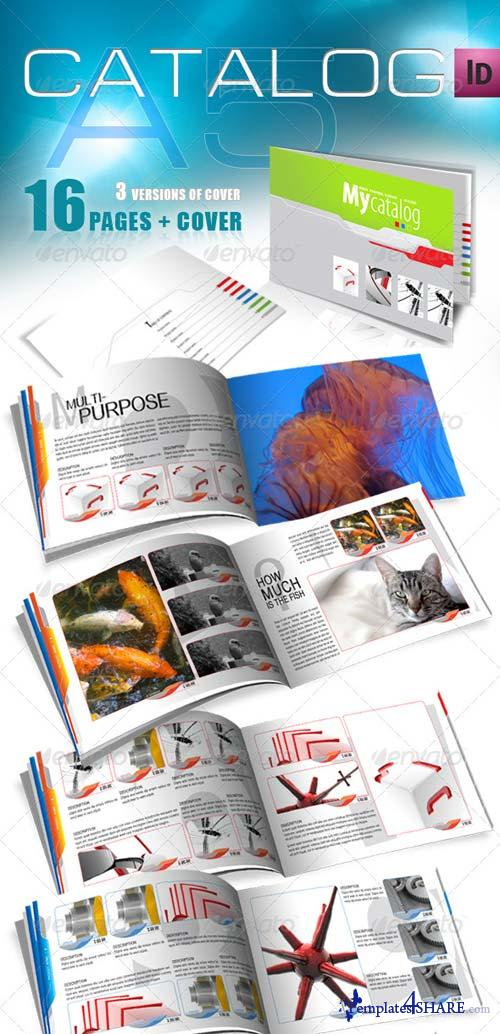 Graphicriver A5 Catalog for Multiple Purposes