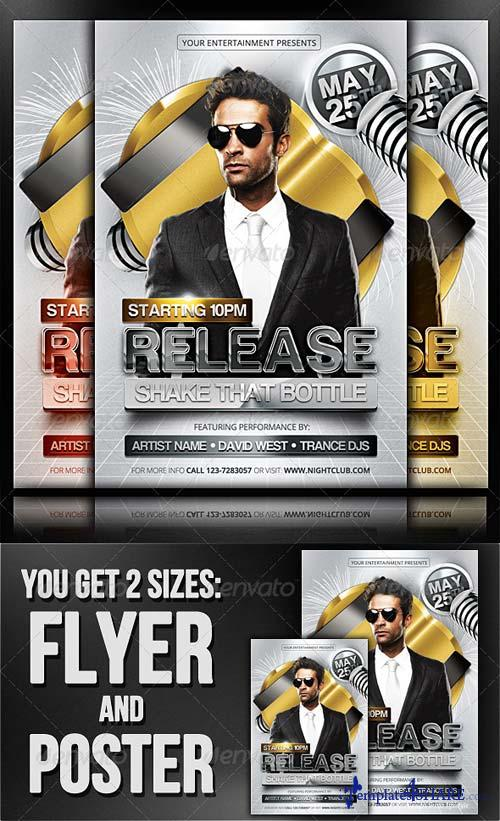 GraphicRiver Release - Flyer/Poster Template