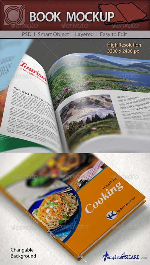 GraphicRiver CS Book Mockup