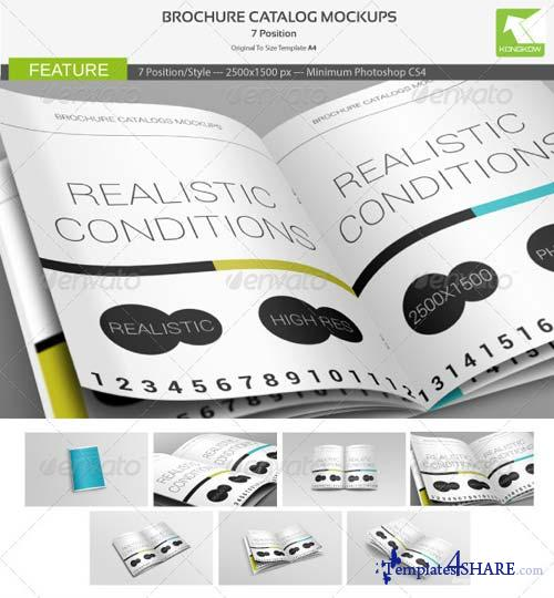 GraphicRiver Brochure Catalog Mockups