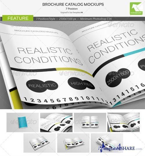 GraphicRiver Brochure Catalog Mockups