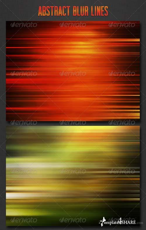 GraphicRiver Abstract Blur Lines