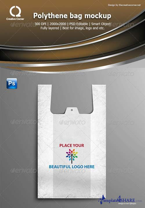 GraphicRiver Polythene bag mockup
